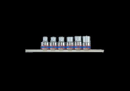SET DE 6 TUBOS TORX HEMBRA E10 a E20 ENCASTRE 1/2