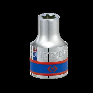 TUBO E12 (TORX HEMBRA) C/ENCASTRE DE 1/2