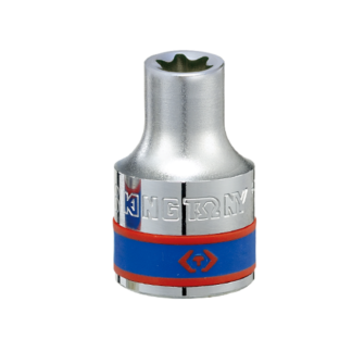 TUBO E10 (TORX HEMBRA) C/ENCASTRE DE 1/2