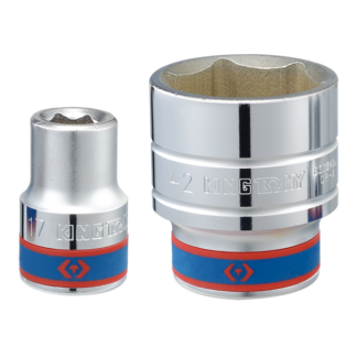 TUBO HEXAGONAL 50mm C/ENCASTRE 3/4