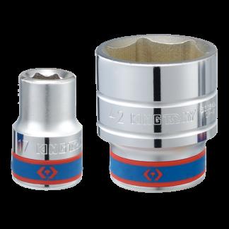 TUBO HEXAGONAL 55mm C/ENCASTRE 3/4