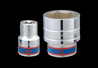 TUBO HEXAGONAL 40mm C/ENCASTRE 3/4